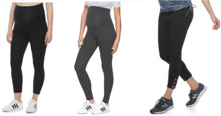 maternity leggings featured