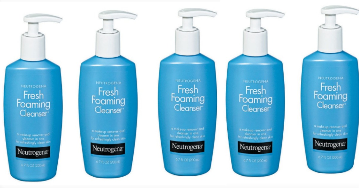 neutrogena foam fb