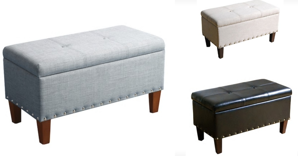 Fine Kohls 52 99 Sonoma Storage Bench Ottoman 150 Value Pdpeps Interior Chair Design Pdpepsorg