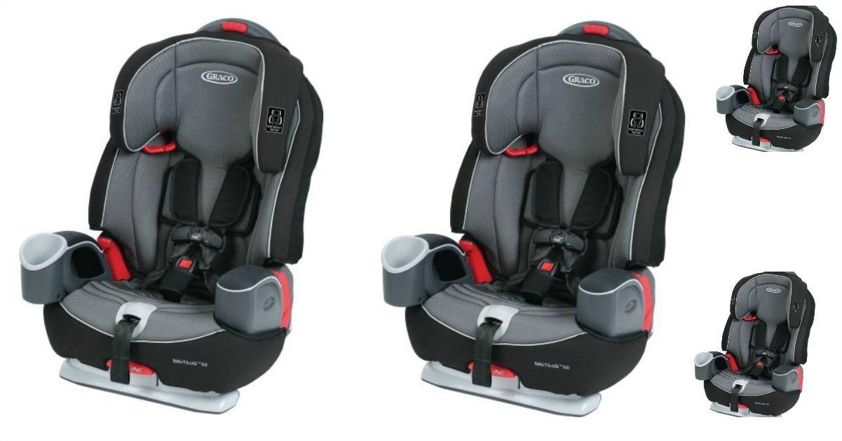 This Graco Nautilus 3 In 1 Booster Car Seat Bravo Pattern Only At Walmart Has Awesome Reviews And Is On Sale For Just 8999 Reg