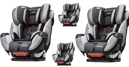 evenflo car seat featured