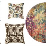 pillows and rugs featured