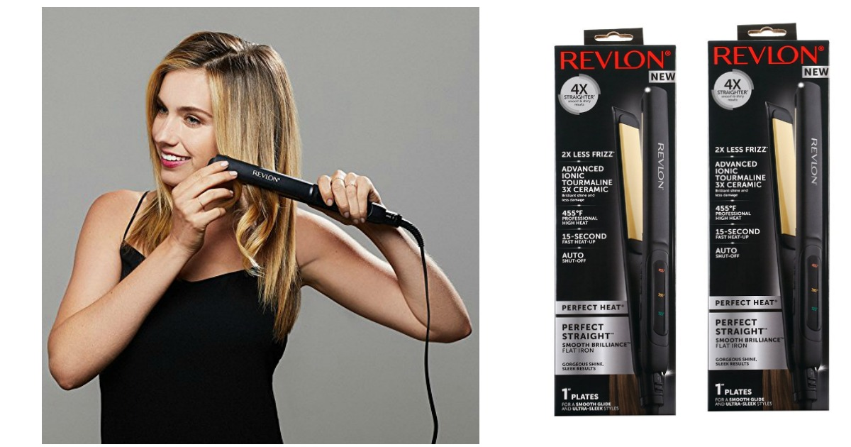 revlon flat iron fb