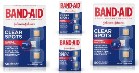 bandaid clear spots featured