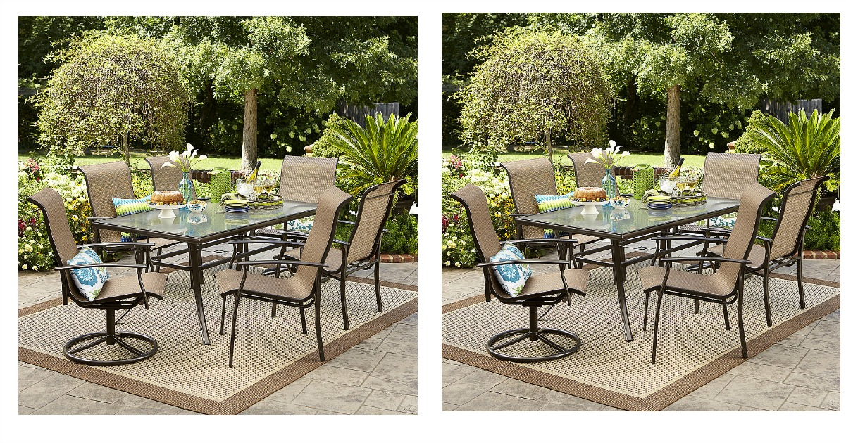 Kmart coupon matchups kmart coupon deals kmart coupons Garden oasis harrison 7 piece dining set