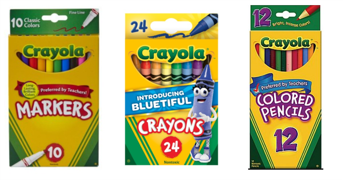 Walmart Com 0 50 Crayola Crayons More Back To School Deals