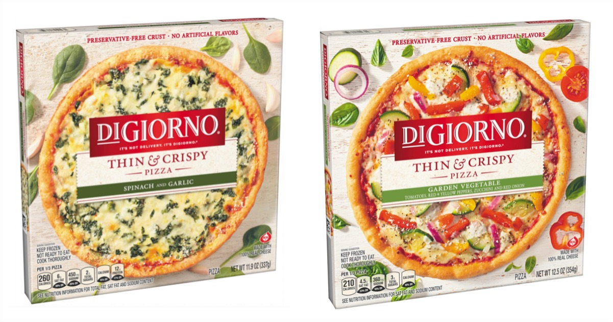 digiorno thin & crispy fb