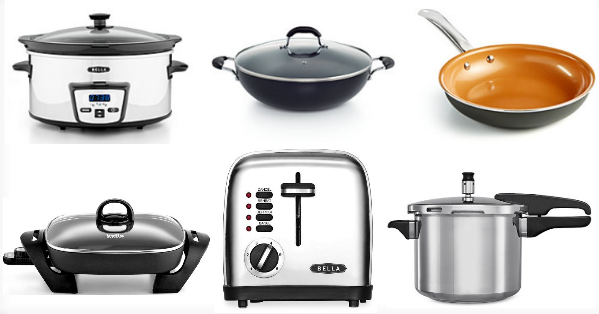 through tomorrow june 13th head to macyscom where select bella and black and decker small kitchen appliances are on sale for 1999 each regularly up - Macys Kitchen