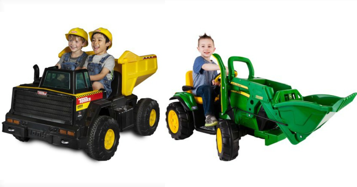 Amazing Deals On Battery Ed Ride Ons At Right Now We Spotted This John Deere Ground Loader 12 Volt For Just 199 Reg