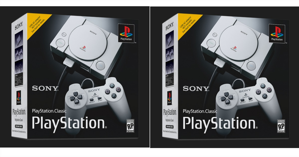 Best Buy: Sony PlayStation Classic Only $99 Shipped! (Pre-Order NOW)