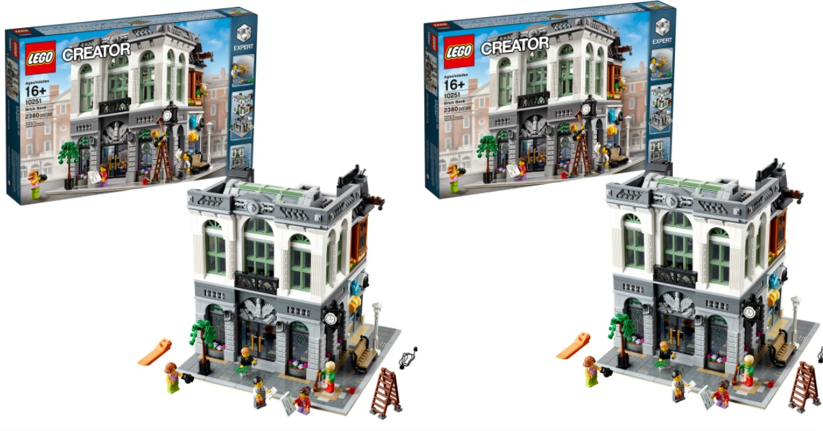 Head Over To Walmart Where You Can Snag This Lego Creator Expert Brick Bank For Just 134  99 For Your Lego Lover This Will Ship For Free Or