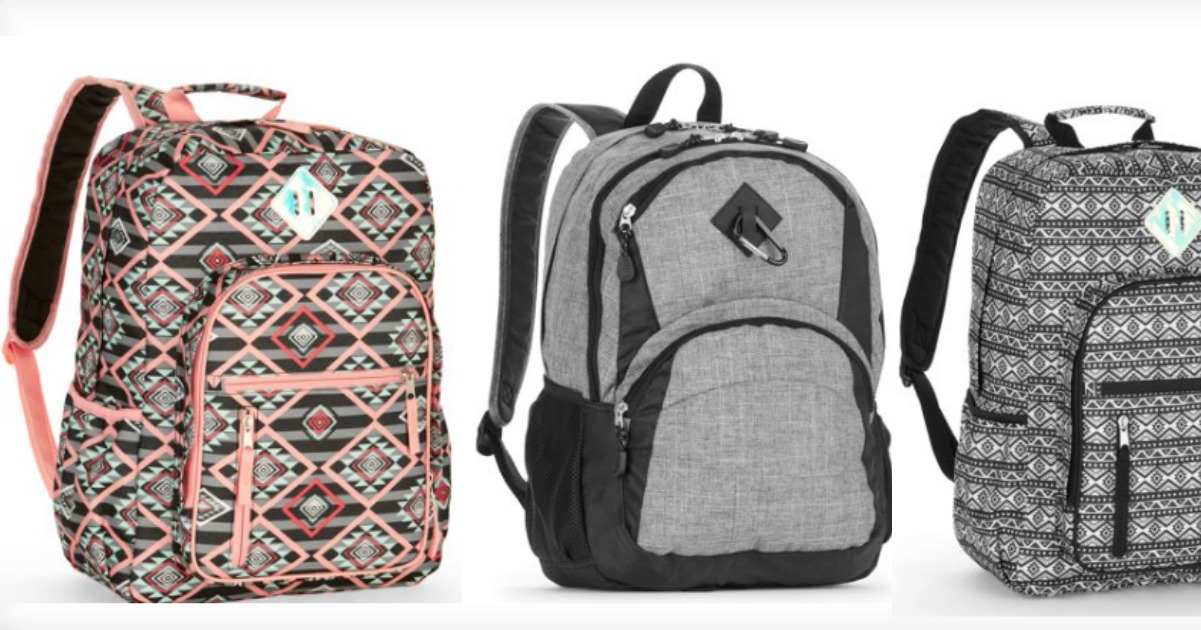 0f8bb7a7f6e6 Need a new bag  No problem right now Walmart has these No Boundaries Girls School  Backpack on sale for just  6.99 (reg.  14.88) and these Wonder Nation ...