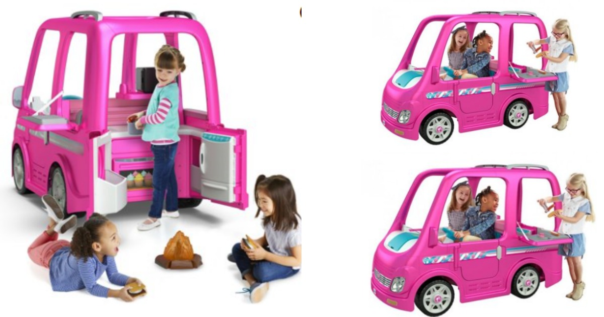 Walmart 398 Power Wheels Barbie Dream Camper Now Available