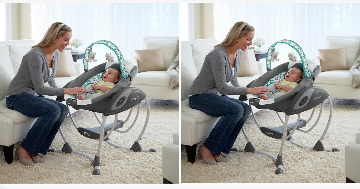 Walmart: $79 Graco Glider Baby Swing Shipped! ($133 Value)