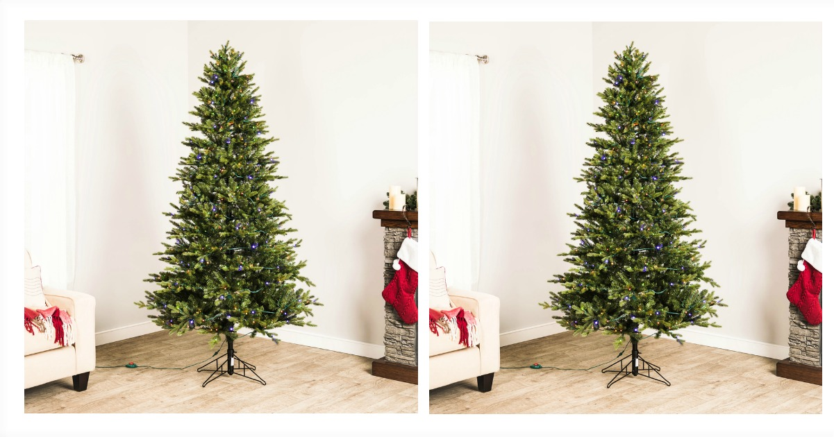 Lowe S 98 Ashville Fir Artificial Christmas Tree W Lights 198