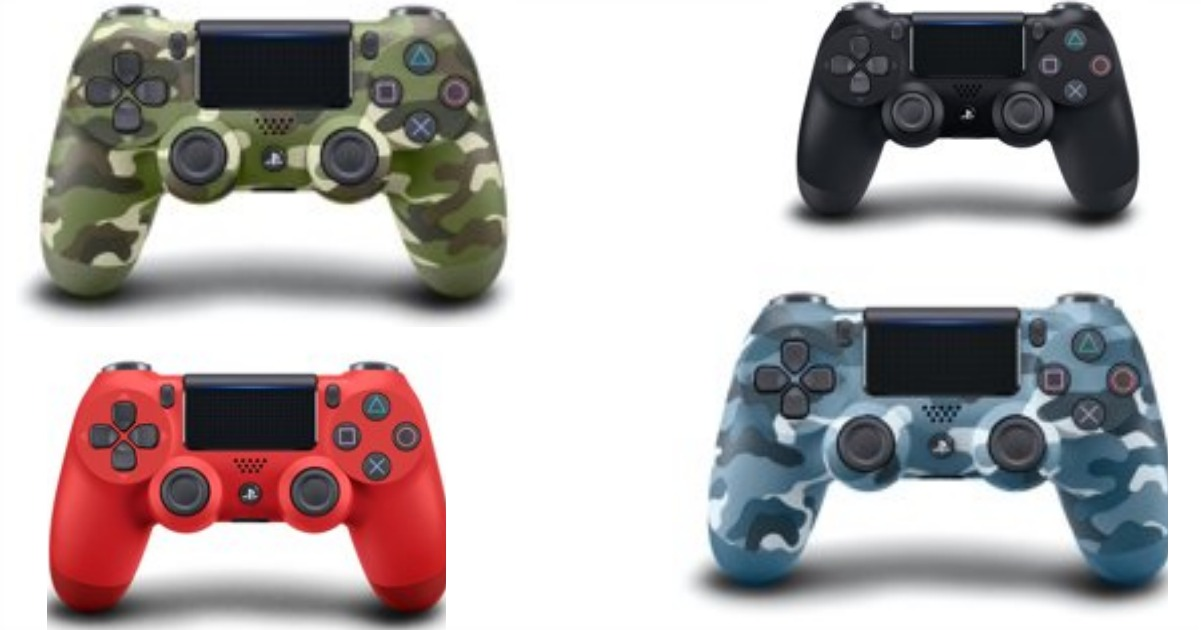 Walmart: $39 PS4 Dualshock Controllers Shipped! ($65 Value)