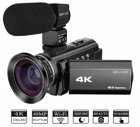 4K Video Ultra HD 48 0MP Camcorder, 54% Off with Promo Code