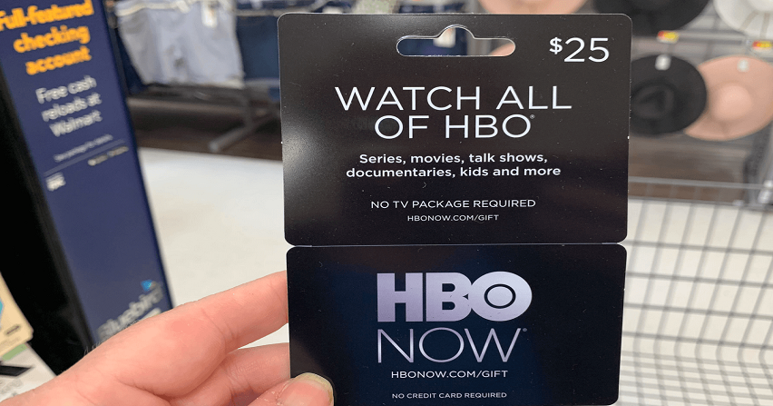 We Love Gift Card Deals This One Is Super Easy Through 5 6 Rite Aid Offering Wellness BonusCash When You Spend 25 On HBO Now OR Hulu Cards